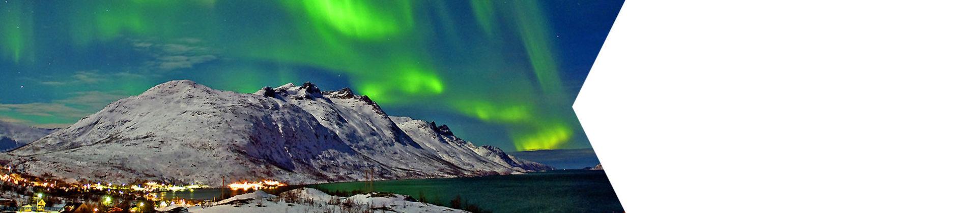 Tromsø liegt nördlich des Polarkreises und ist die größte Stadt Nordnorwegens.